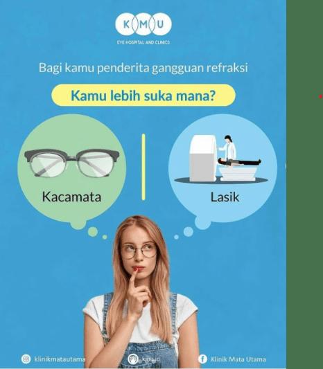 kacamata atau lasik