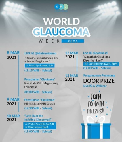 tIME lINE wORLD gLAUCOMA wEEK 2021