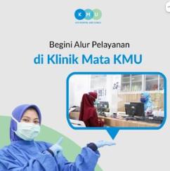 Alur pelayanan Klinik Mata KMU